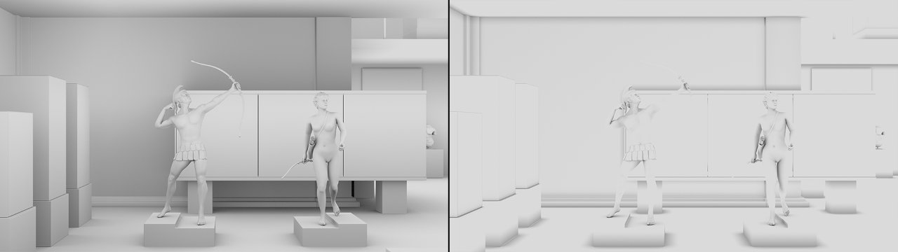 cylces ambient occlusion distance