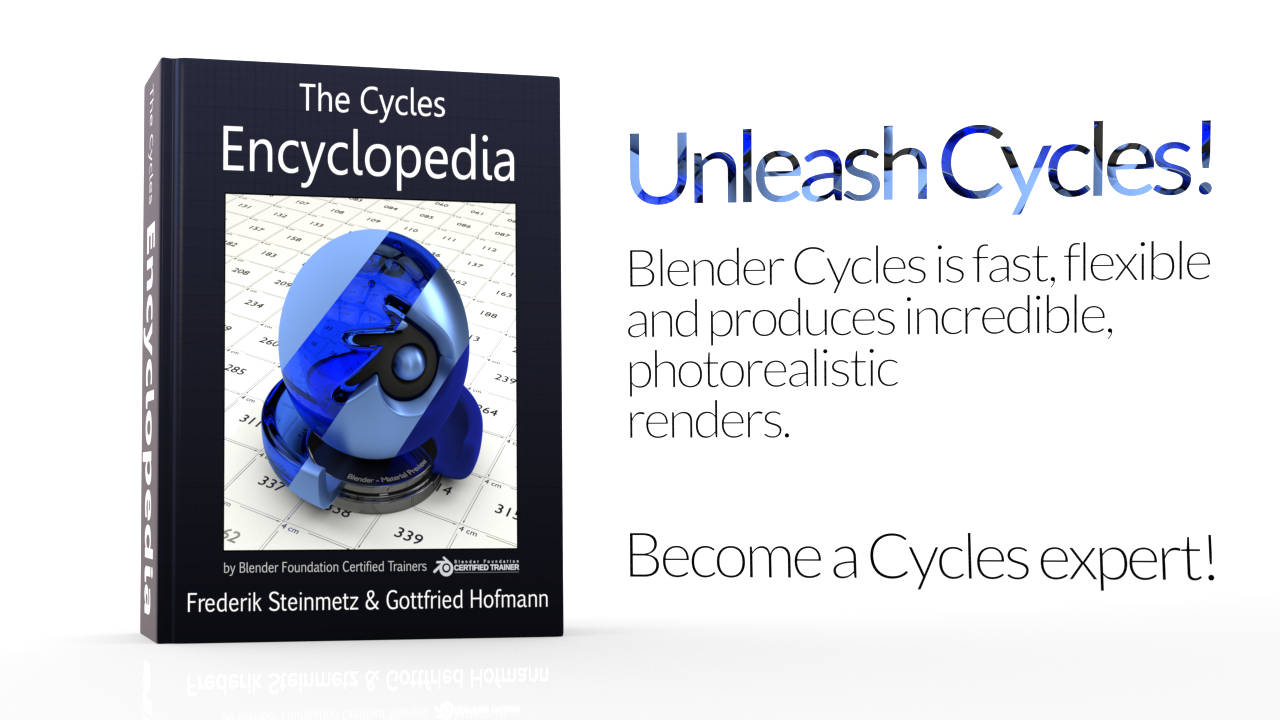 Promo image for The Cycles Encyclopedia - The definitve manual of the Cycles render engine