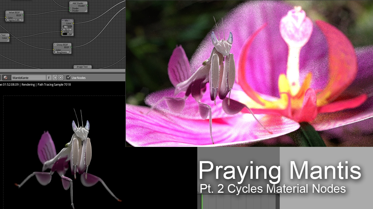 blender mantis cycles