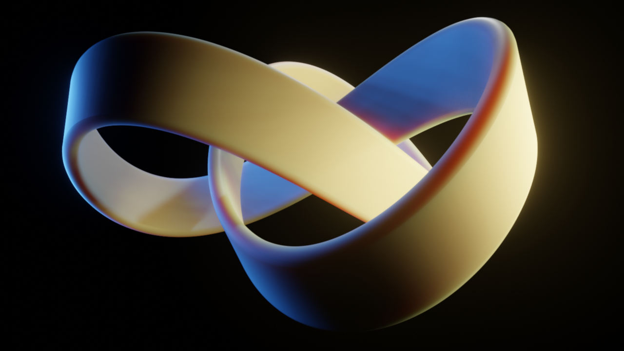 trefoil knot blender animation nodes